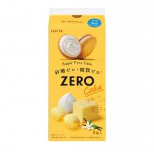 ロッテ 新色追加 返品交換不可 ゼロシュガーフリーケーキ 発酵バター×バニラ