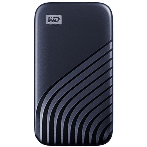 Western ギフ_包装 Digital WDBAGF5000ABL-JESN ポータブルSSD My 数量限定 Passport ブルー 500GB Hi-Speed 2020 SSD