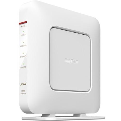 バッファロー 評価 WSR-1800AX4S-WH ホワイト 4年保証 無線ルーター