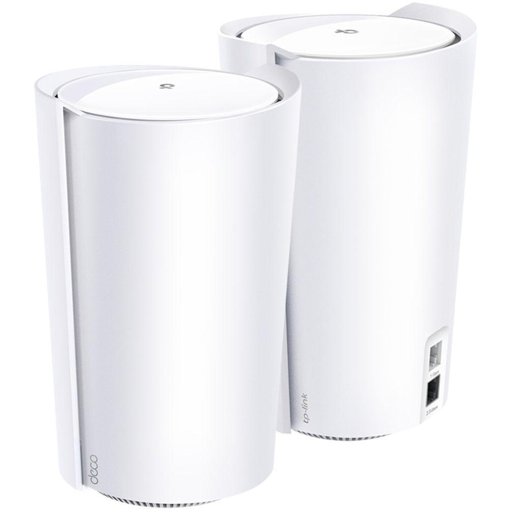 TP-LINK 人気商品 ティーピーリンク WiFi6 メッシュWiFiシステム トライバンド 4804+1201+574Mbps DECO 3年保証 X90 新作 AX6600 2P