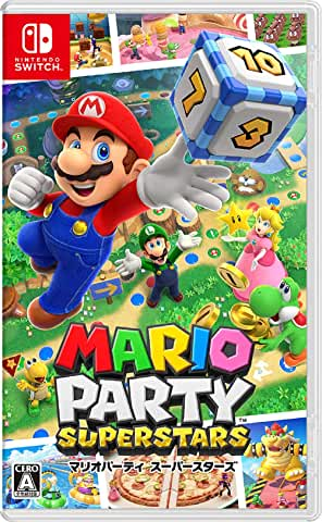 人気ブレゼント マリオパーティ スーパースターズ Nintendo Switch HAC-P-AZ82A 舗