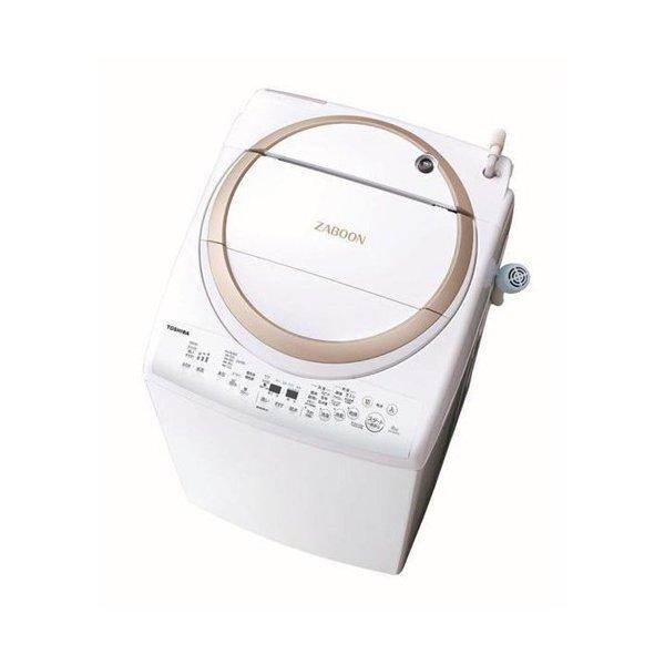 【無料長期保証】東芝 AW-8V8(W) タテ型洗濯乾燥機 (洗濯脱水8kg / 乾燥4.5kg) グランホワイト