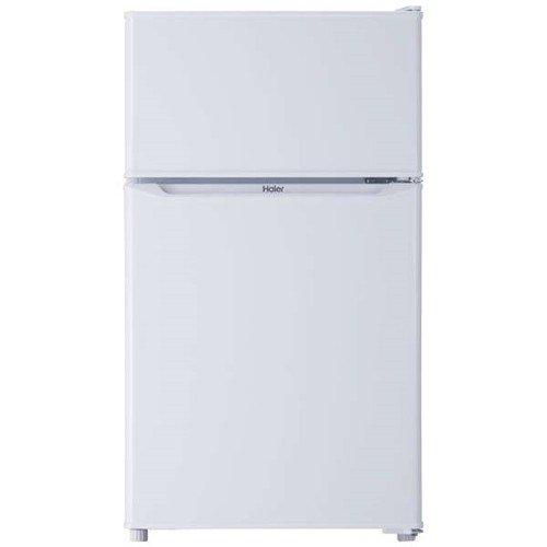 ハイアール JR-N85C-W 2ドア冷蔵庫(85L・右開き) ホワイト