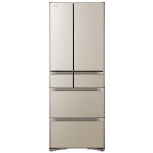 【無料長期保証】日立 R-XG48K-XN 6ドア冷蔵庫(475L・フレンチドア) プレーンシャンパン