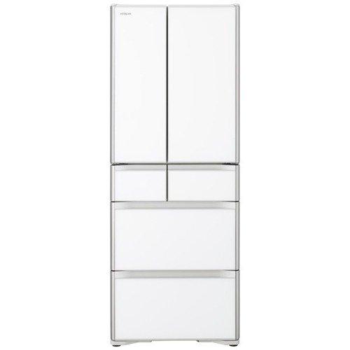 【無料長期保証】日立 R-XG48K-XW 6ドア冷蔵庫(475L・フレンチドア) クリスタルホワイト