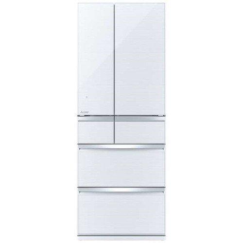 【無料長期保証】三菱 MR-WX70E-W 6ドア冷蔵庫(700L・フレンチドア) クリスタルホワイト