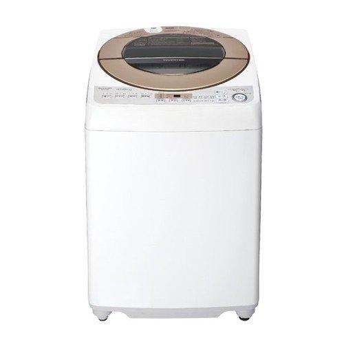 【無料長期保証】シャープ ES-GV10D-T 全自動洗濯機 (洗濯10.0kg) ブラウン系