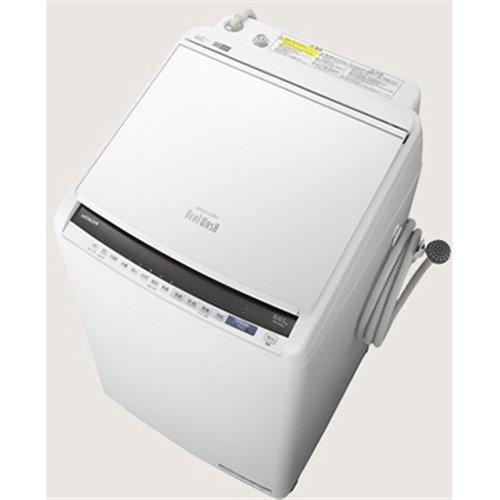 【無料長期保証】日立 BW-DV80E W 縦型洗濯乾燥機 (洗濯8.0kg /乾燥4.5kg) ホワイト