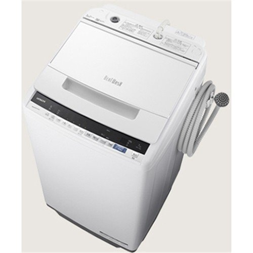 【無料長期保証】日立 BW-V70E W 全自動洗濯機 (洗濯7.0kg) ホワイト