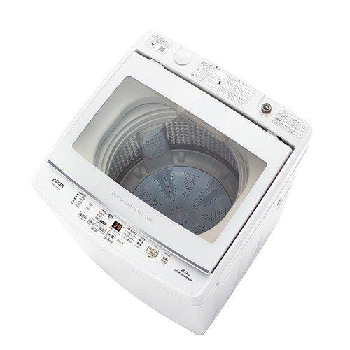 【無料長期保証】AQUA AQW-GV80H(W) 全自動洗濯機 (洗濯8.0kg)