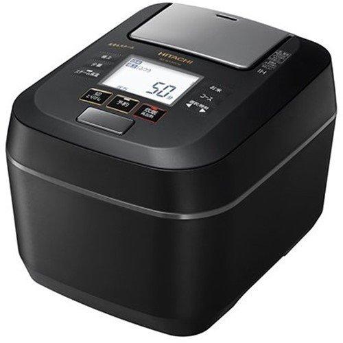 【ポイント10倍!】日立 RZ-W100CM K 圧力&スチームIHジャー炊飯器 ふっくら御膳 5.5合炊き フロストブラック