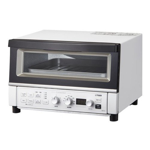 【ポイント10倍!】タイガー KAT-A130-WM コンベクションオーブン&トースター マットホワイト