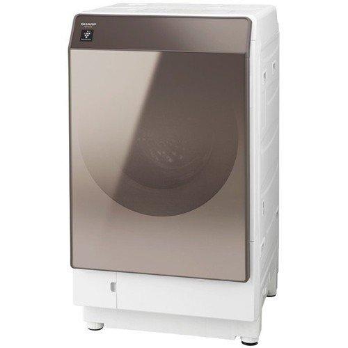 【無料長期保証】シャープ ES-G112-TR ドラム式洗濯乾燥機 (洗濯11.0kg/乾燥6.0kg・右開き) ブラウン系