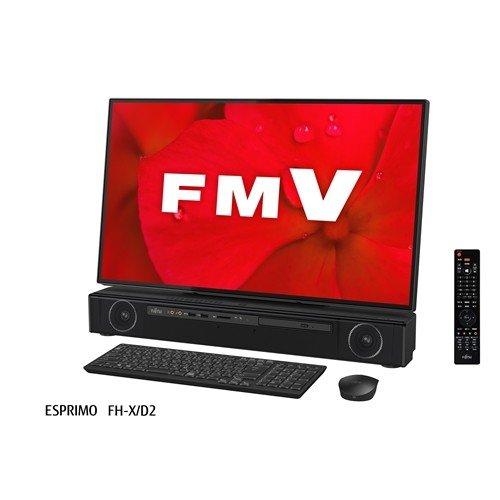 富士通 FMVFXD2B デスクトップパソコン FMV ESPRIMO オーシャンブラック