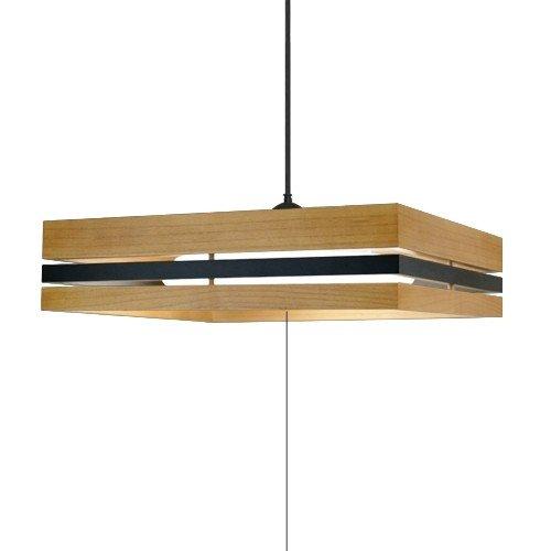 タキズミ GEVR80106 LED洋風ペンダント ~8畳用 木製枠 モダン リモコン付き 調色