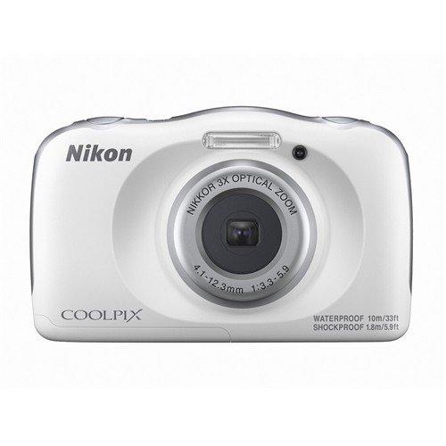ニコン COOLPIX W150 WH デジタルカメラ  ホワイト