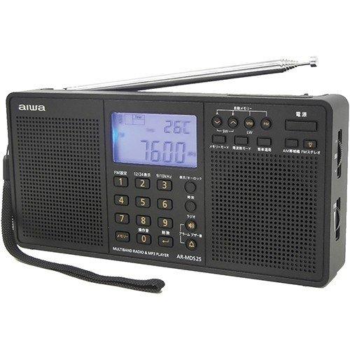 アイワ AR-MDS25 ワールドバンドラジオ ステレオ