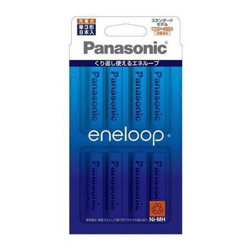 電池 パナソニック 買取 充電池 8C BK-3MCC エネループ 海外並行輸入正規品