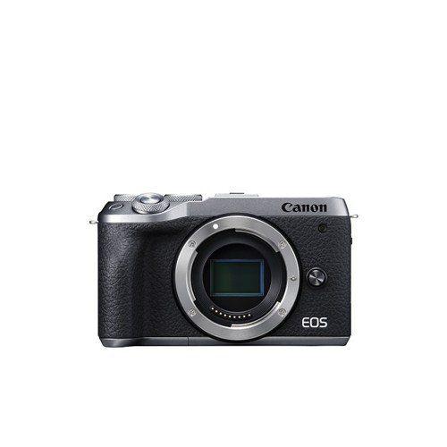 キヤノン EOSM6MK2 BODYSL ミラーレスカメラ EOS M6 Mark II (シルバー)