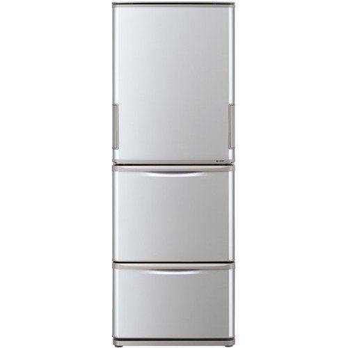 【無料長期保証】シャープ SJ-W352E-S 3ドア冷蔵庫 (350L・どっちもドア) シルバー系