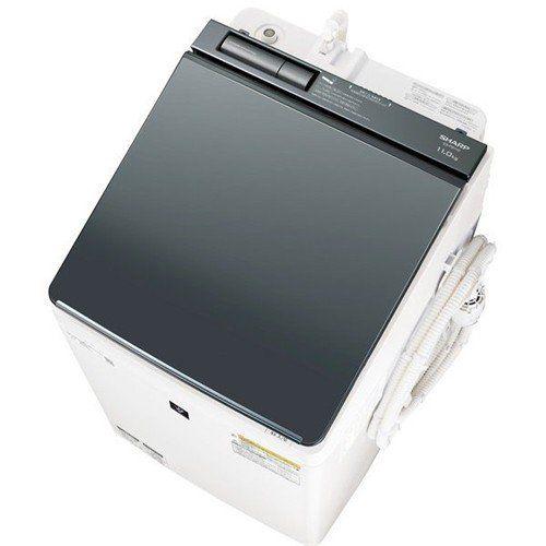 【無料長期保証】シャープ ES-PW11D-S 縦型洗濯乾燥機 (洗濯11.0kg/乾燥6.0kg) シルバー系