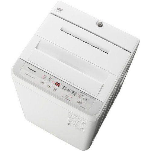 パナソニック NA-F60B13-S 全自動洗濯機 6kg シルバー