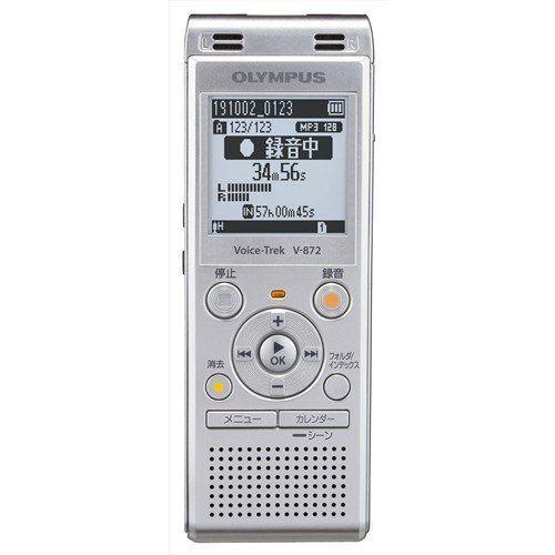 オリンパス V-872 SLV ICレコーダー Voice-Trek シルバー