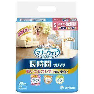 ユニ チャーム S30枚 ギフト 定番 マナーウェア高齢犬用紙オムツ