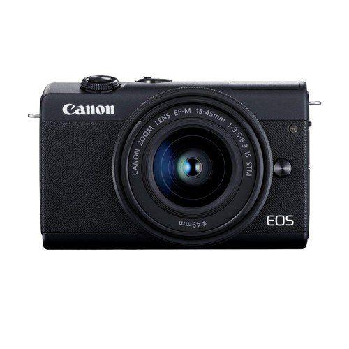 キヤノン EOSM200 L1545KBK ミラーレスカメラ 15-45レンズキット EOS M200 黒