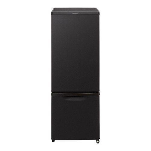 【無料長期保証】パナソニック NR-B17CW-T パーソナル 2ドア冷蔵庫 (168L 右開き) マットビターブラウン
