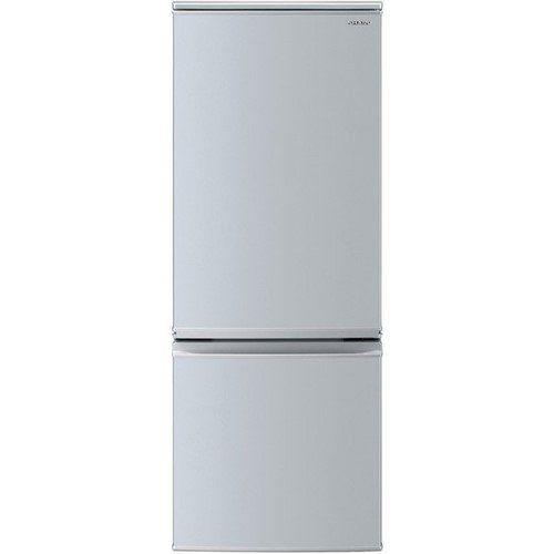 シャープ SJ-D17F-S 2ドア冷蔵庫 (167L・つけかえどっちもドア) シルバー系