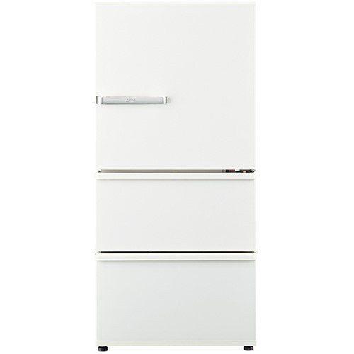 【無料長期保証】AQUA AQR-SV24J(W) 3ドア冷蔵庫(238L・右開き) ミルク