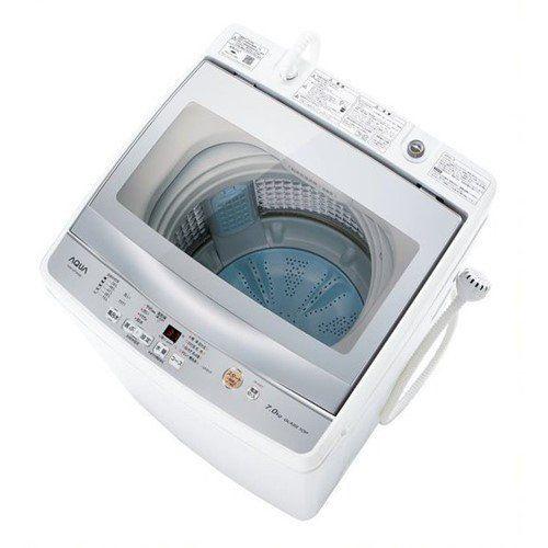 AQUA AQW-GP70H(W) 簡易乾燥機能付き洗濯機 (洗濯7.0kg) ホワイト