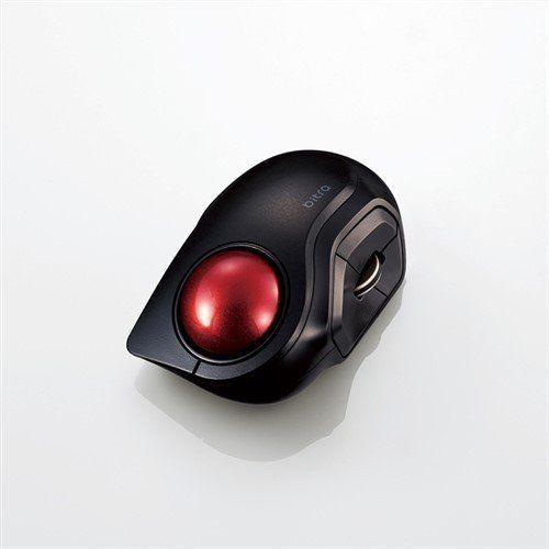 エレコム M-MT2BRSBK Bluetooth �の新作シューズ満載 人差し指操作タイプ R 税込 モバイルトラックボール