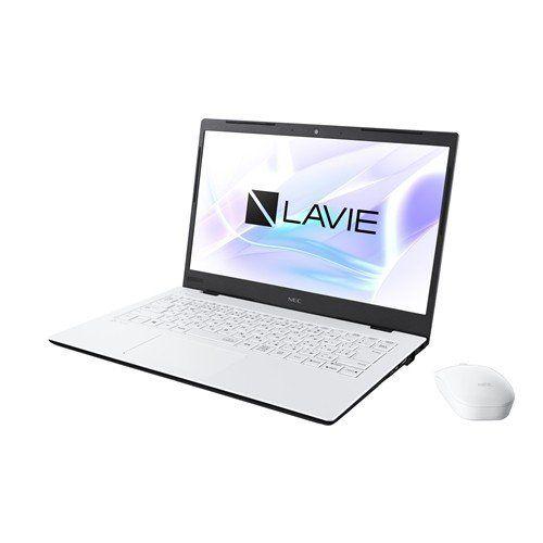 【ポイント10倍!】NEC PC-HM350PAW ノートパソコン LAVIE Home Mobile パールホワイト