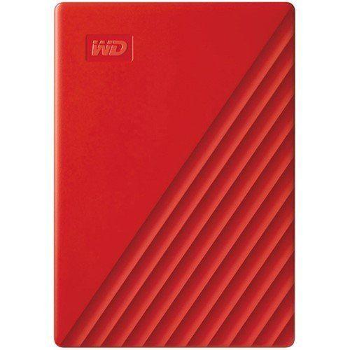 ウエスタンデジタル WDBPKJ0040BRD-JESN My Passport 4TB レッド