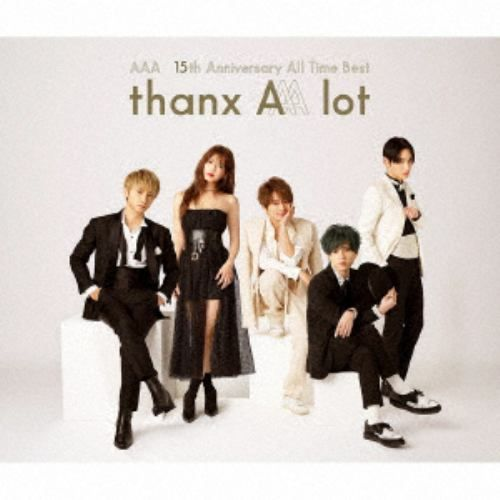 【CD】AAA / AAA 15th Anniversary All Time Best -thanx AAA lot-(通常盤)