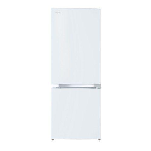 東芝 GR-R15BS-W 2ドア冷蔵庫 (153L・右開き) セミマットホワイト