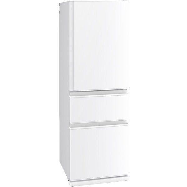 【無料長期保証】三菱 MR-CD40E-W 3ドア冷蔵庫 (401L・右開き) CDシリーズ パールホワイト