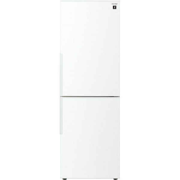 【無料長期保証】シャープ SJ-AK31F-W 2ドア冷蔵庫 (310L・右開き) ホワイト系