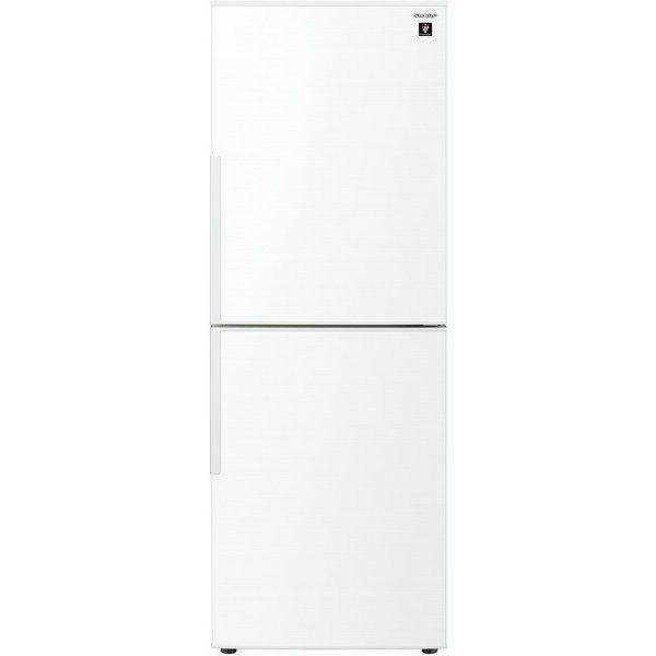 【無料長期保証】シャープ SJ-PD28F-W 2ドア冷蔵庫 (280L・右開き) ホワイト系