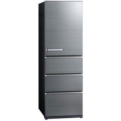 【無料長期保証】アクア AQR-V46J(S) 4ドア冷蔵庫(458L・右開き) チタニウムシルバー