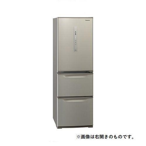 【無料長期保証】パナソニック NR-C371NL-N 3ドア冷蔵庫 365L 左開き 鋼板ドア シルキーゴールド