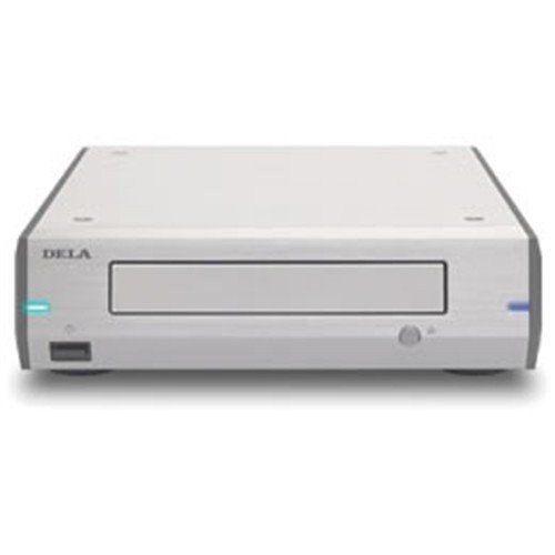 DELA D100-B-J 光ディスクドライブ シルバー