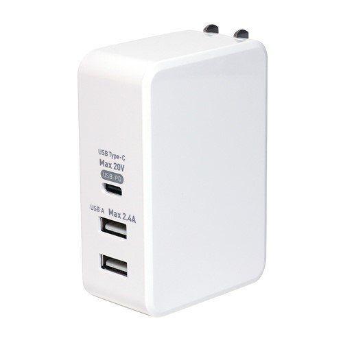 ミヨシ IPA-C05 WH 売れ筋ランキング USB 61W 高品質 白 PD対応USB-ACアダプタ