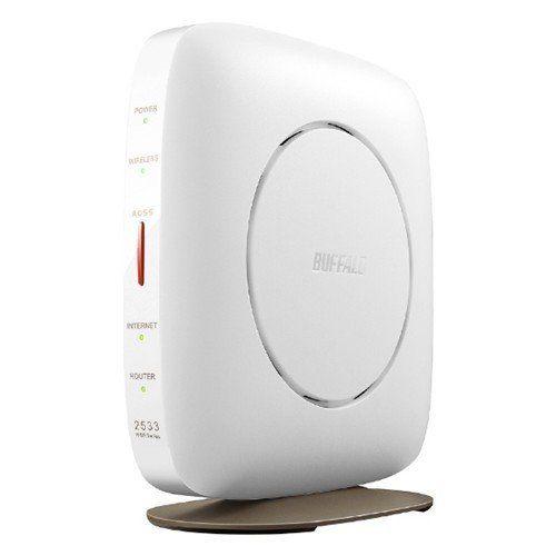 バッファロー WSR-2533DHP3-WH 世界の人気ブランド wifiルーター 1733 800Mbps ホワイト ac b 今季も再入荷 g a n