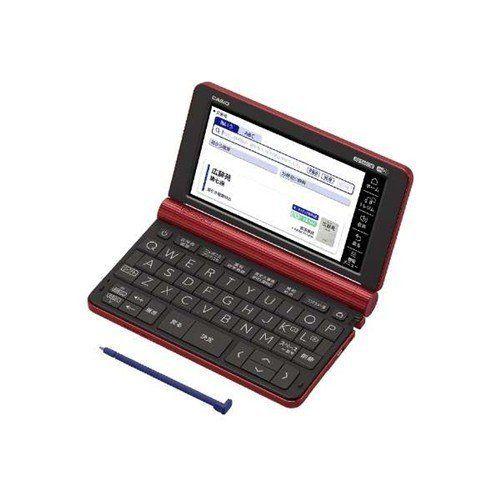 カシオ XD-SX6500-RD 電子辞書「エクスワード(EX-word)」 (生活教養モデル 160コンテンツ収録) レッド