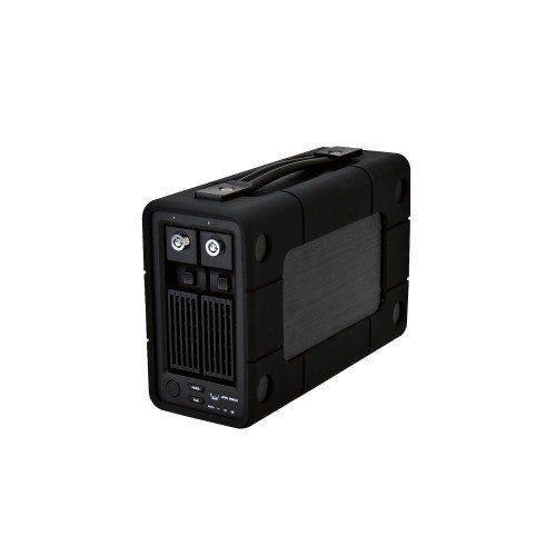 エレコム ELD-2B060UBK 外付けHDD/2Bay/RAID/6TB