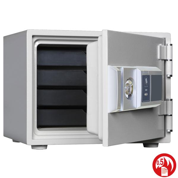 家庭用 耐火金庫 ダイヤセーフ RC30-4 内容量17リットル金庫 耐火金庫 カード式