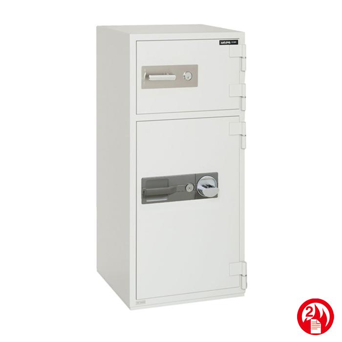 耐火投入金庫 指静脈照合式サガワ SAGAWA PC120NV 容量94.7リットル